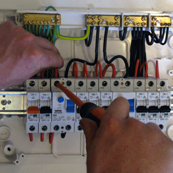 Electrical and electrician services at Coleman Heating