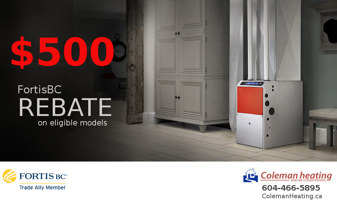 $500 off Natural Gas Furnace
